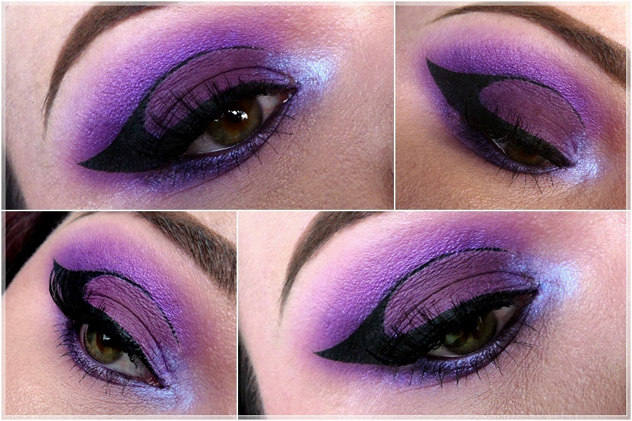 ultra violet eye makeup