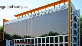 Info Pendaftaran Mahasiswa Baru  ( UNSERA ) Universitas Serang Raya 2018-2019