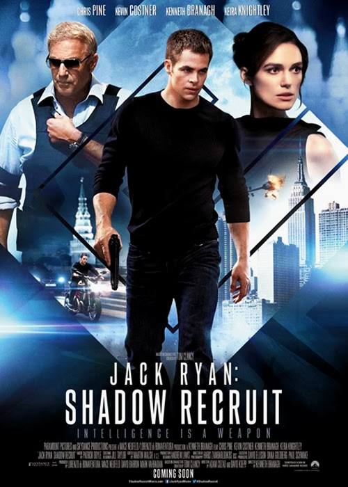 Poster oficial Jack Ryan: The Shadow Recruit