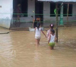 Hujan Deras, Beberapa Rumah Warga Terendam Banjir