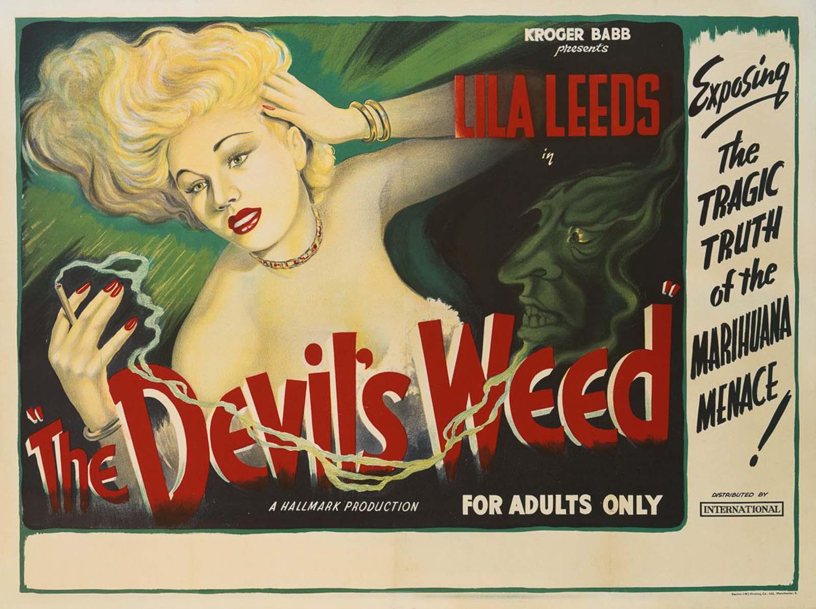 Carteles alarmistas de películas contra la marihuana, 1936-1950