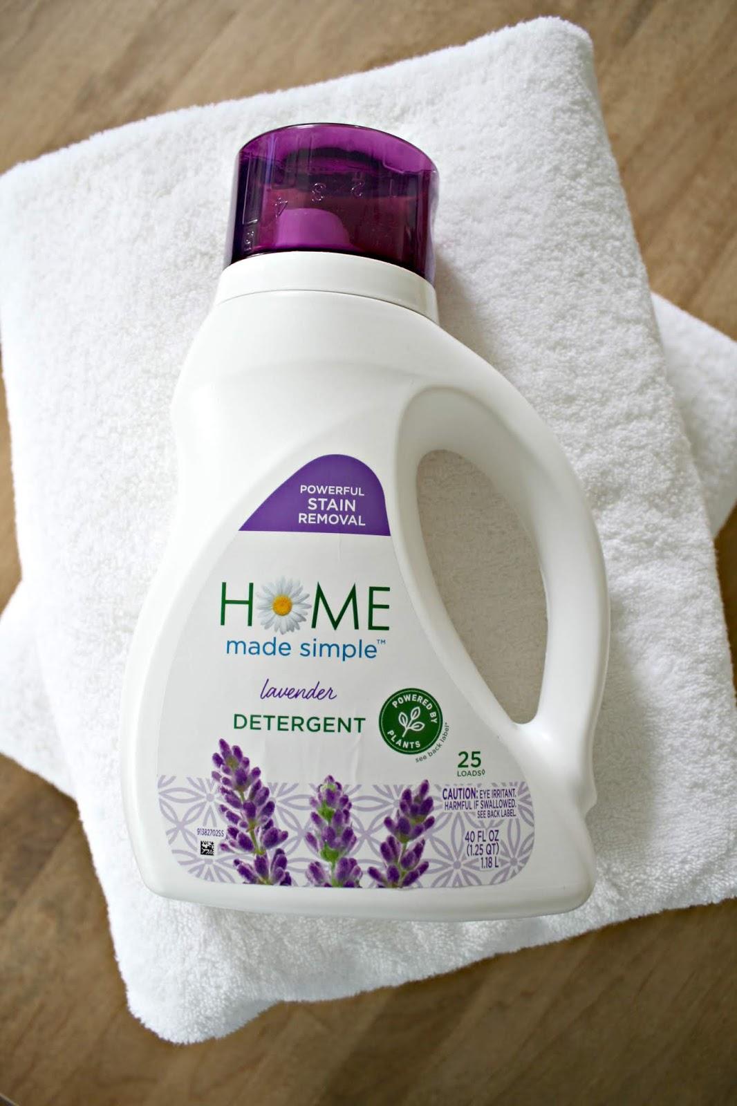 Plant-based laundry detergent