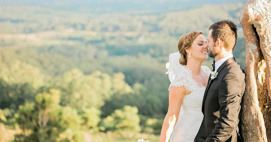 Dreamy Hinterland Wedding With a Special Guest