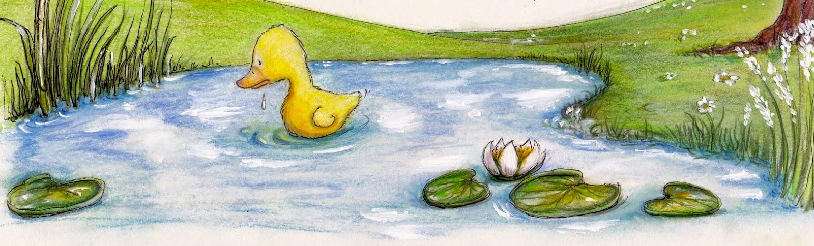 Kinderbuchillustration, Tiere, Küken