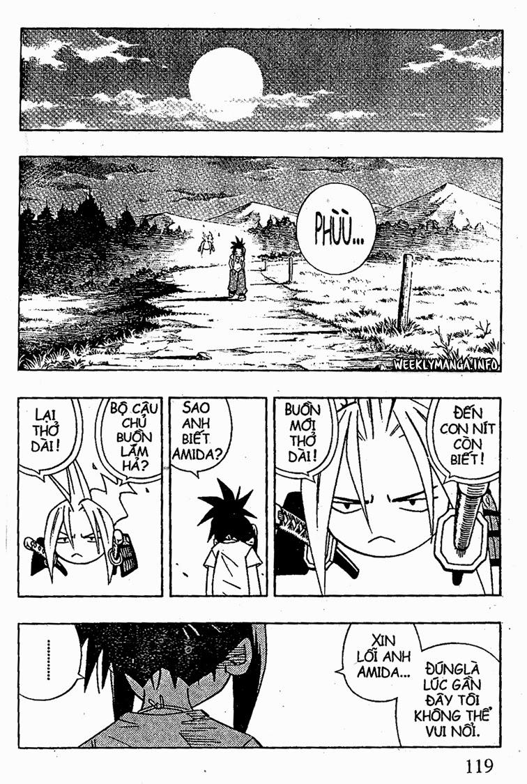 Shaman King [Vua pháp thuật] chap 209 trang 13
