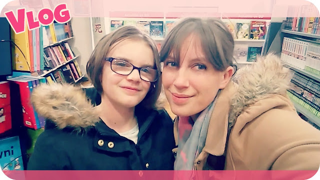 shopping, famille, entre filles, katy's family, vlog famille, video, soldes, mangas, minecraft, journal d'une maman