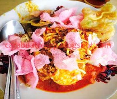 CARA MEMBUAT LONTONG PECEL PADANG  Resep Masakan Indonesia