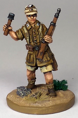 28mm WW2 German Afrikakorps