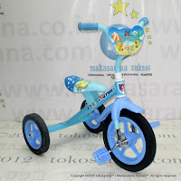 12 Inch Arava Alfrex BMX Tricycle Blue
