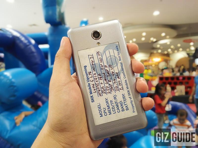 SKK Lynx S LTE Teased! 64 Bit LTE Handset Priced At 3999 Pesos!