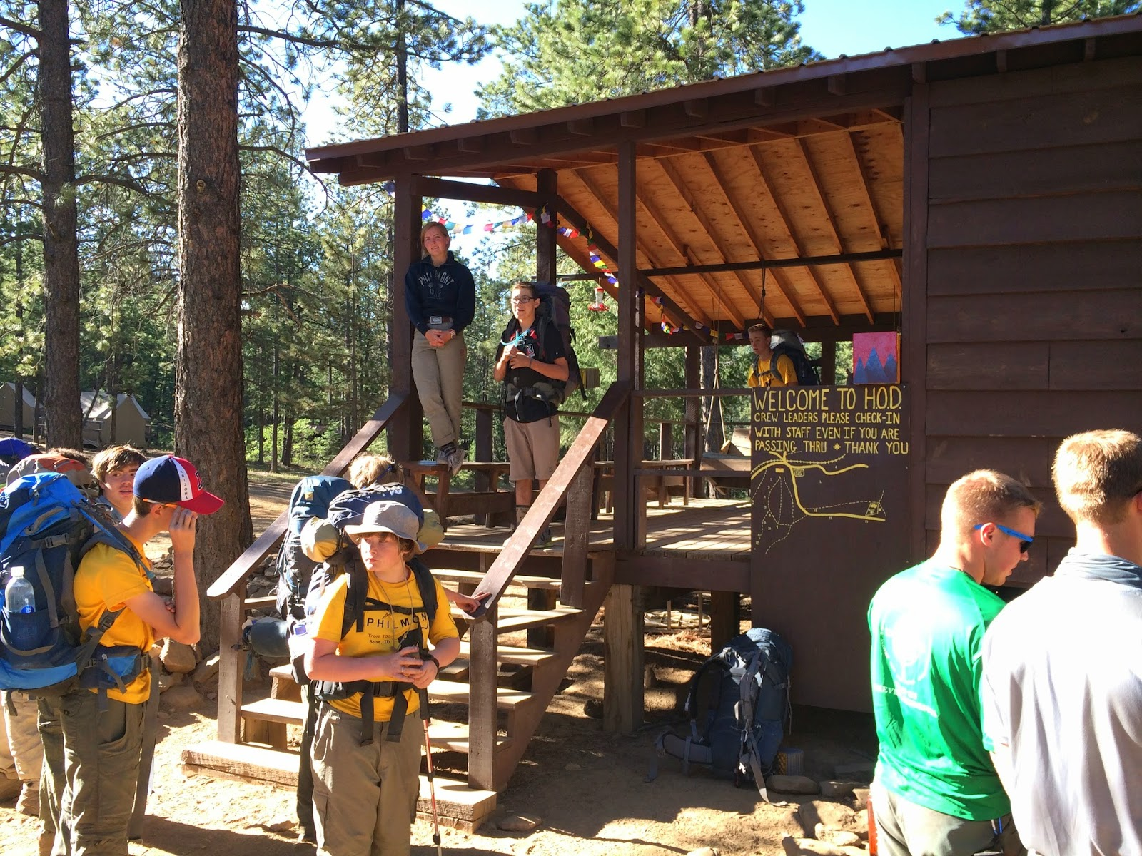 Philmont 2014 621s01 Day 6 Head Of Dean Miranda And