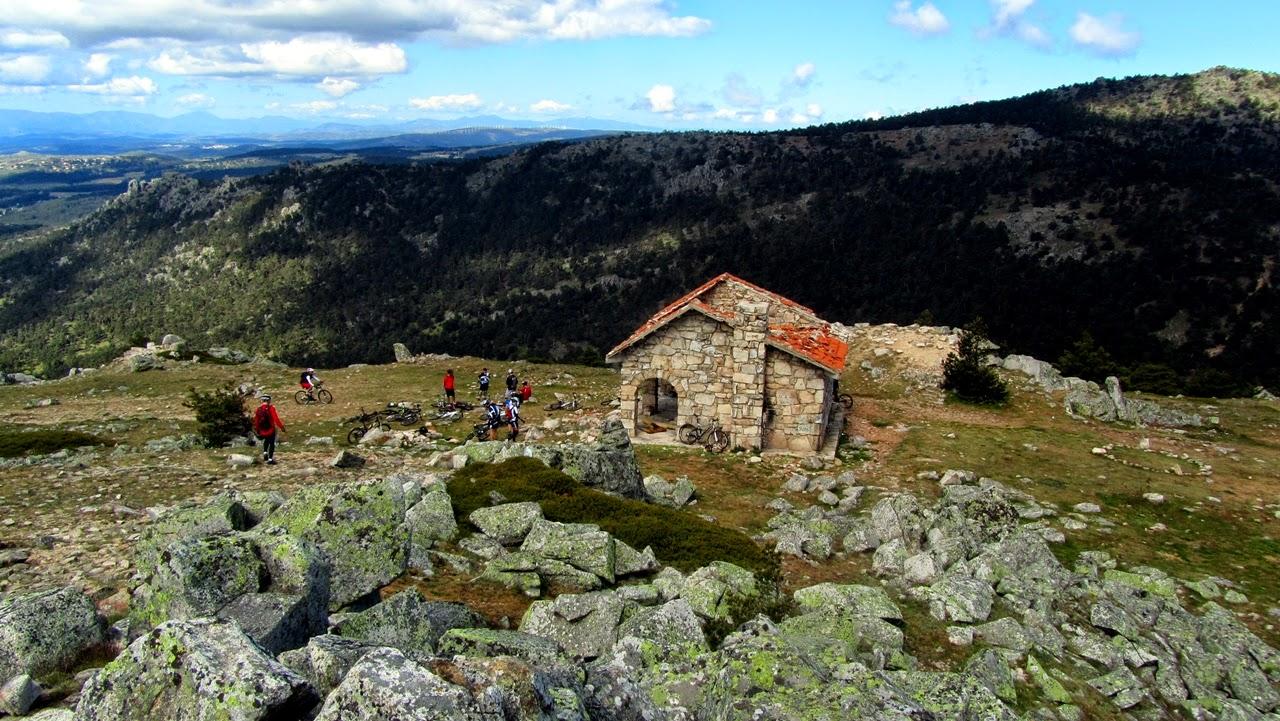 MTB en La Salamanca y Collado Arcipreste