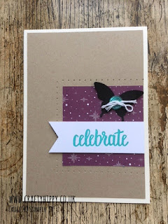 How to make a gorgeous card using the Elegant Butterfly Punch and the Amazing You stamp set by Stampin' Up!