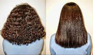 تكثيف و تنعيم الشعر المجعد والمقصف