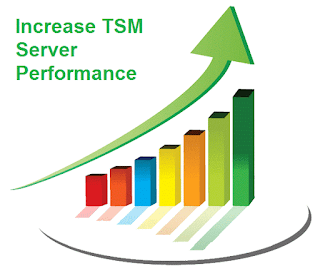 Increase TSM server performance by following these guidelines