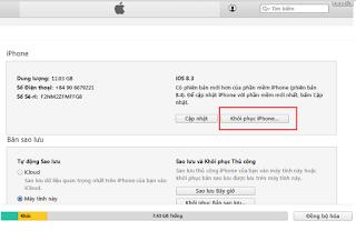 Khắc phục lỗi sập nguồn iPhone 6/6S