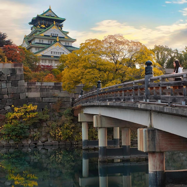 Tham quan Osaka Castle