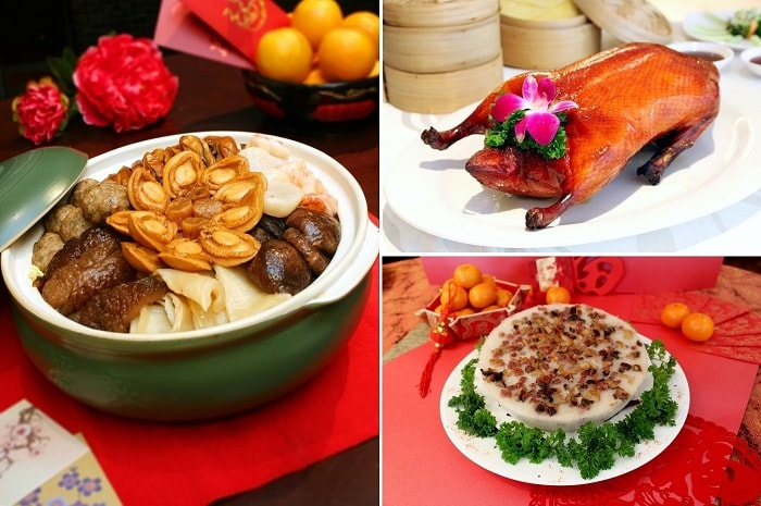 Lunar New Year 2019, auspicious foods, restaurants in Singapore, hotels in Singapore