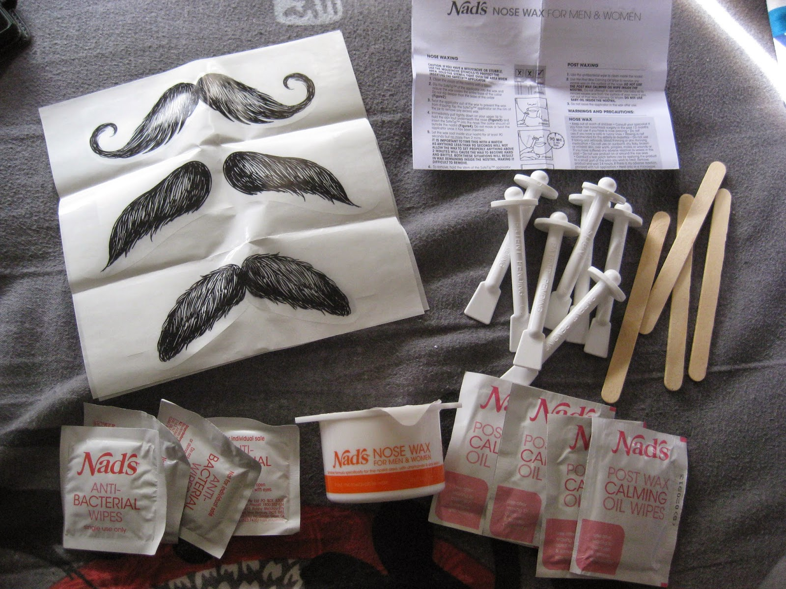 This Is The Most Organised Kit I Ve Ever Seen Wasn T Sure What Moustache Stickers Were For When First Saw Them Boyfriend Thought It Might Be An