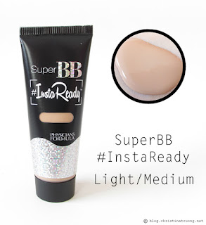 Physicians Formula Super BB #InstaReady Beauty Balm BB Cream Light/Medium Review