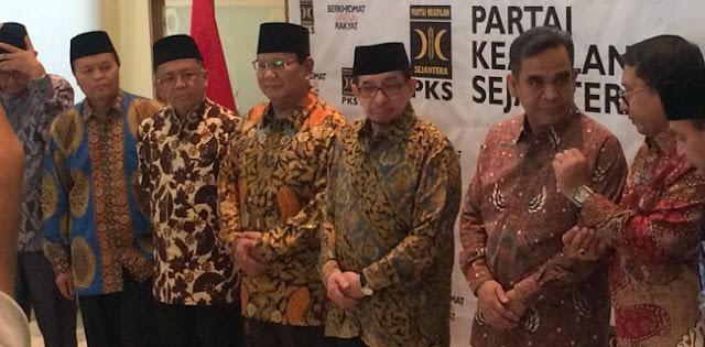Prabowo Serius Pelajari Hasil Ijtima Ulama Bersama PKS