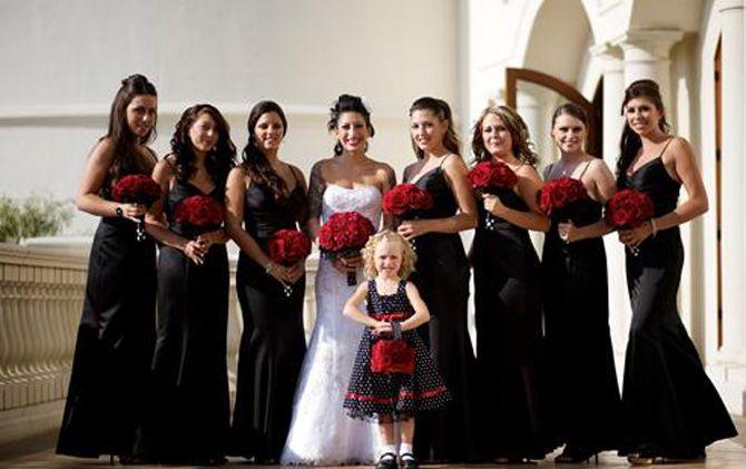 67ec49df4 Madrinha pode usar vestido preto? Madrinhas de casamento