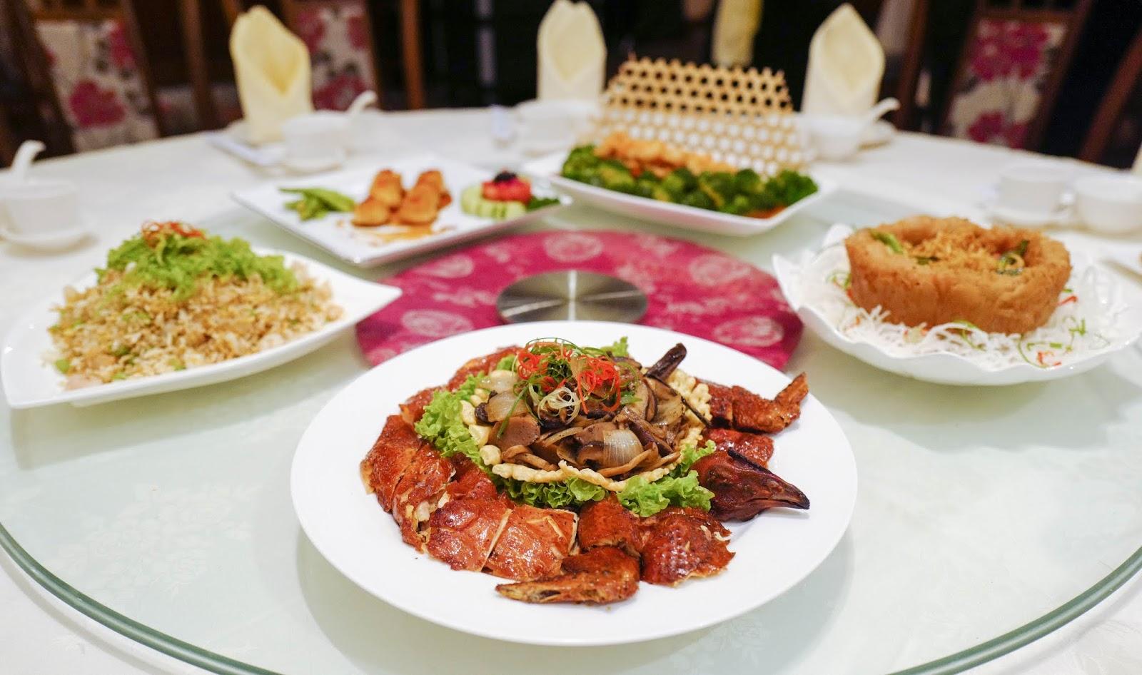 2018 menu: xin cuisine, concorde hotel kuala lumpur