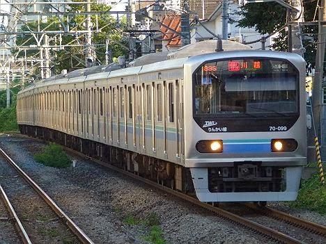埼京線 通勤快速 川越行き1 70-000形