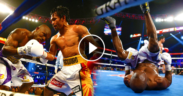 Timothy Bradley's Tumble And Roll Goes Viral Online!