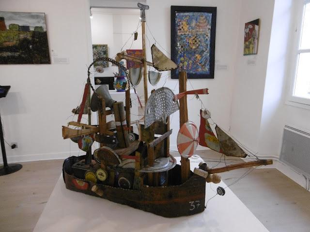 François Burland, le Nautilus 1997, Musée Création Franche, malooka