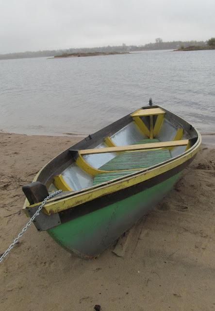 самодельная гребная лодка