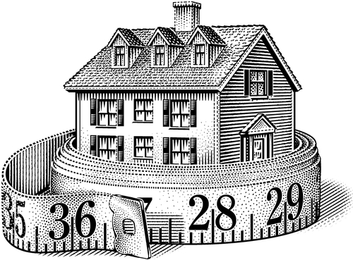 11-House-Measurements-Michael-Halbert-Scratchboard-Images-of-Animals-and-Architecture-www-designstack-co