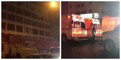 احتراق فندق في جدة بالسعودية وإنقاذ 91 شخصا