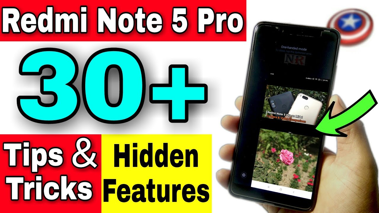 31f6bac7b85672 Xiaomi Redmi Note 5 Pro Hidden Features | Tips and Tricks | Secret ...