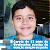 Garoto de 12 anos de Queimadas precisa de doação sangue urgente