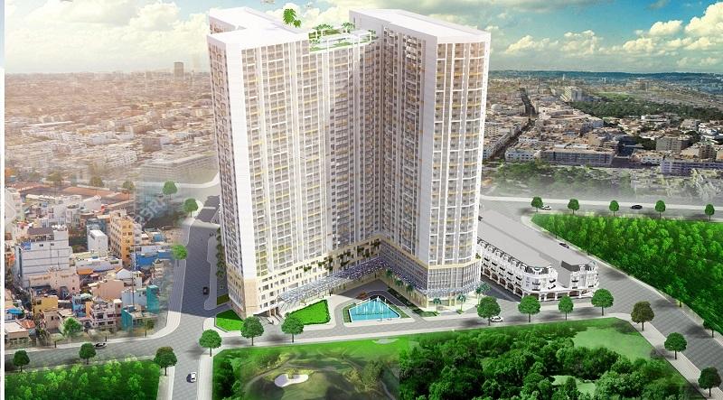 Hình ảnh phối cảnh dự án căn hộ PegaSuite quận 8 Tp.Hồ Chí Minh