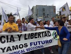 Edgar Zambrano inició gira de oración y fe por Venezuela