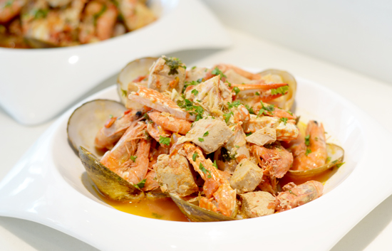 Cioppino Style Seafood Stew
