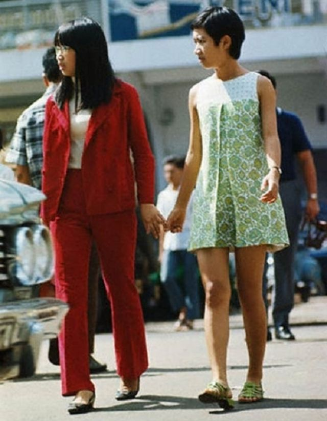 Fashionistas Of 1960s Saigon These Vintage Photos Capture