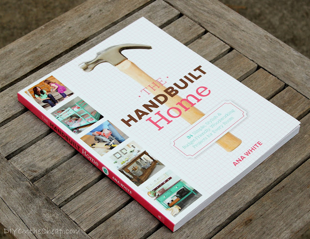 The Handbuilt Home by Ana White {Book Review & Giveaway} - Perfect for DIY enthusiasts!
