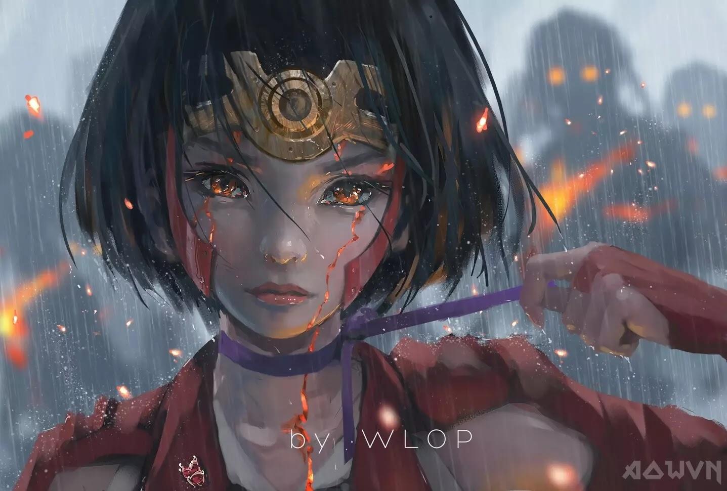 38 AowVN.org m - [ Hình Nền ] Anime Cực Đẹp by Wlop | Wallpaper Premium / Update