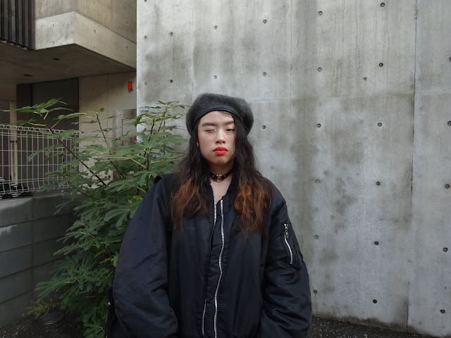 fashion blogger in tokyo japan