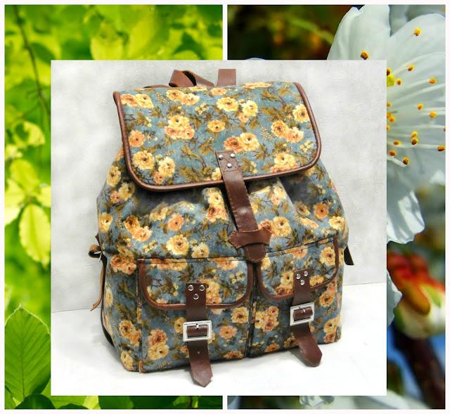 Женский рюкзак для города на заказ oksmoroz@yandex.ru Материалы: натуральный хлопок, натуральная кожа