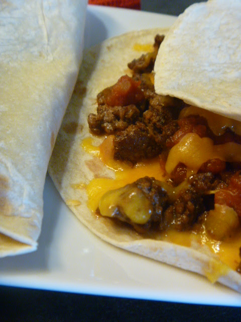 Simple Homemade Meximelts - a quick copykat recipe of a drive through favorite.  Perfect for Taco Tuesday! Slice of Southern