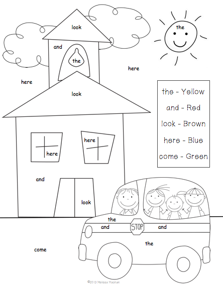 This is a picture of Refreshing back to school coloring pages for first grade