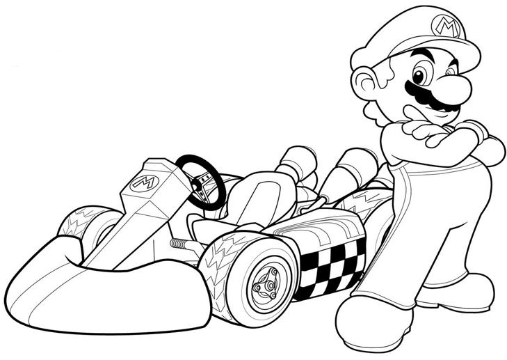 Dibujos Para Colorear De Mario Bros Y Sus Amigos Dibujos Para Colorear
