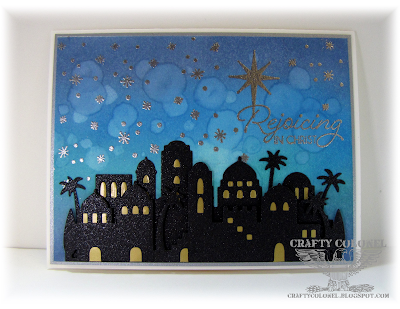 CraftyColonel Donna Nuce, for OCC Merry Making Day 1, Stampin'Up Night in Bethlehem