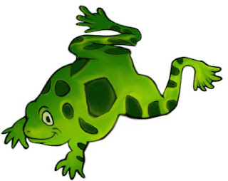 Why Froggy Has Bulging Eyes African Folktale