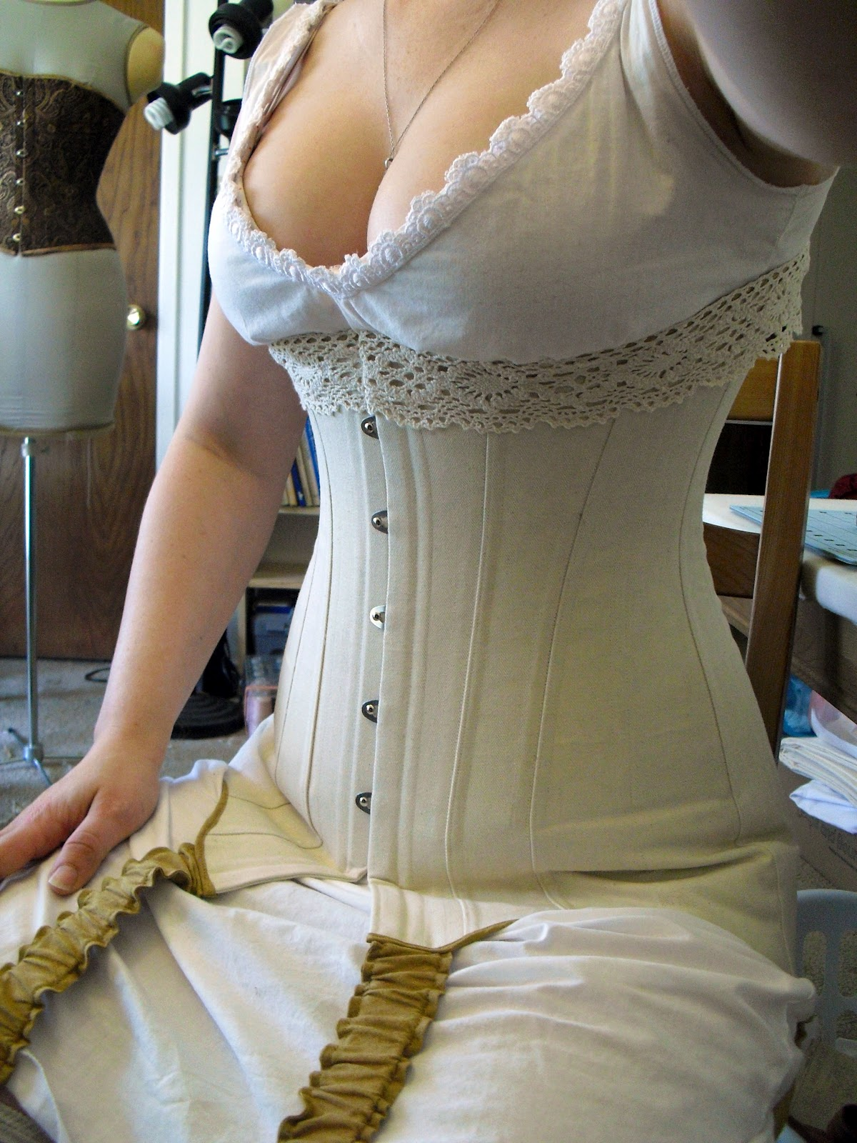 Teens In A Corset 82