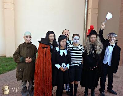 Disfraz de La Familia Addams